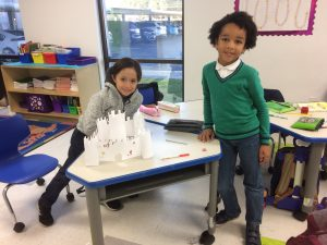 3 - 1st grade built their models of fortified castles www.lihouston.org