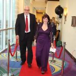 Sonia Garcia member of LIH Teacher Staff walking the Red Carpet – Lycée International de Houston (LIH)